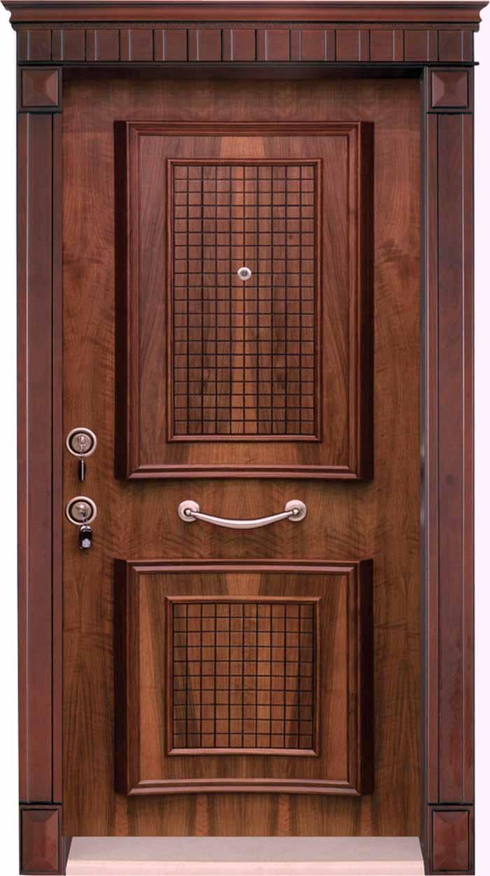 درب ضد سرقت چوب و فولاد